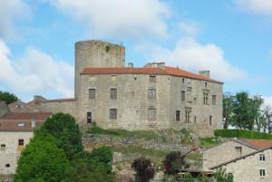 Le château d'Esplantas