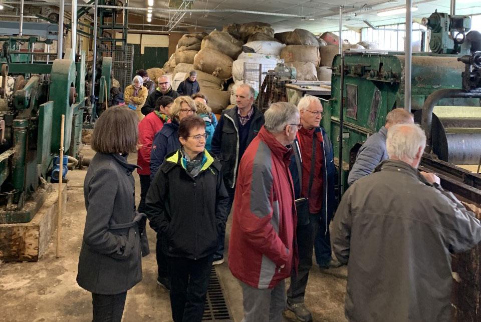 Visite des ateliers de la bruyère!
